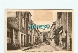 46 - SALVIAC - Rue De La Poste - Salviac