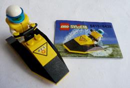 FIGURINE LEGO 6415 Res-Q JET-SKI Avec Notice 1998 - MINI FIGURE - Figures