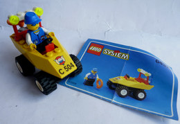 FIGURINE LEGO 6437 BEACH BUGGY GARDE COTIERE Avec Notice 1999 - MINI FIGURE - Figures
