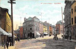 St. John Street, Quebec - Québec - La Cité