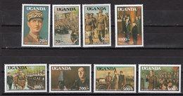 UGANDA - 1991 The 100th Anniversary Of The Birth (1990) Charles De Gaulle (French Statesman), 1890-1970  M496 - Maldives (1965-...)