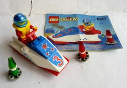 FIGURINE LEGO 6517 WATER JET SKI Avec Notice 1 1996 - MINI FIGURE - Figures