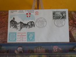 Rattachement De La Savoie à La France - (74) Chambéry - 24.3.1960 - FDC 1er Jour N° 328 - Coté 3€ - FDC