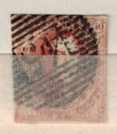 Belgique  N° 3 - 1849 Epaulettes