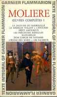 Théâtre : Oeuvres Complètes 1 Par Molière - Auteurs Français