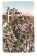 Beaulieu-sur-Mer (Alpes Maritimes)-Le Château De Madrid Sur Son Roc-Photo Véritable - Beaulieu-sur-Mer