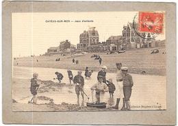 CAYEUX SUR MER - 80 -  Jeux D'Enfants -  DELC6** -- - Cayeux Sur Mer