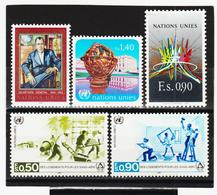 SRO08 VEREINTE NATIONEN UNO GENF 1987 Michl 151/55 ** Postfrisch - Genf - Büro Der Vereinten Nationen