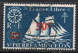 """SAINT-PIERRE-ET-MIQUELON N°315   Belle Oblitération De L'""""Ile Aux Marins"""" - Used Stamps"""