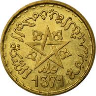 Monnaie, Maroc, Mohammed V, 20 Francs, 1951, Paris, SUP, Aluminum-Bronze, KM:50 - Maroc