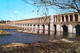 1 AK Iran * Die 33-Bogen-Brücke (Siose Pol) In Der Stadt Isfahan - Erbaut Ab 1602 - Iran