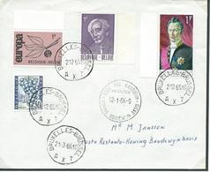 België  O.B.C.  Briefomslag  Stempel  Kon. Boudewijnbasis  Antarctica. - Entiers Postaux