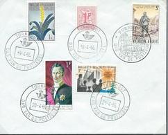 België  O.B.C.  Briefomslag  Dag V/d Postzegel  Turnhout - Entiers Postaux