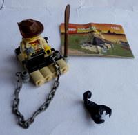 FIGURINE LEGO 1182 ADVENTURERS RAFT Avec Notice 1999 - MINI FIGURE - Figures