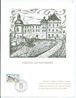 Feuillet Chateau De Hautefort - Postdokumente