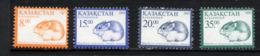 KAZAKSTAN 2003, DEFINITIVE MOUSE / SOURIS, 4 Valeurs, Neufs / Mint. R2256 - Kazakhstan