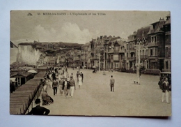 80 - MERS - LES-BAINS  -  L'esplanade Et Les Villas - Mers Les Bains