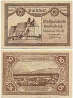 Vöcklabruck, 1 Schein Notgeld 1920, Kirche Wallfahrtskirche Österreich 10 Heller - Oesterreich