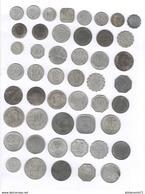 Lot De 48 Monnaies De Nécessité / Coins Of Necessity - France 1916-1924 - Francia