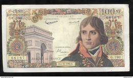 Billet 100 Francs France Bonaparte 4-10-1962 D - 1959-1966 Nouveaux Francs