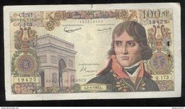 Billet 100 Francs France Bonaparte 5-4-1962 L - 1959-1966 Nouveaux Francs