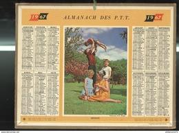 Calendrier 1967 Almanach Des P.T.T - Détente - Grand Format : 1961-70