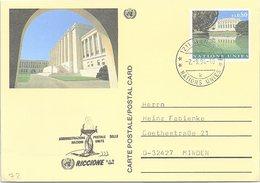 NATIONS UNIES  -CP  ENTIER POSTAL 0.80 - GENEVE 2.9.94 - RICCIONE 2-4.9.1994   /2-72 - Genf - Büro Der Vereinten Nationen