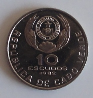 10 Escudos Cabo Verde 1982 Eduardo Mondlane - Cap Vert
