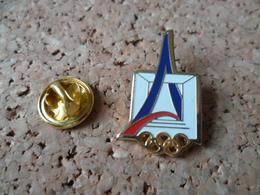 PIN'S      JEUX OLYMPIQUES  PARIS  TOUR EIFFEL - Jeux Olympiques
