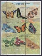 1997 - Eritreia - Butterflies - MNH - Butterflies