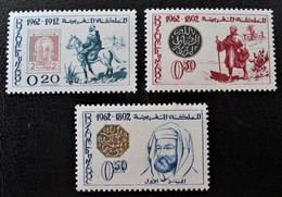 JOURNEE DU TIMBRE 1962 - NEUFS * - YT 450/52 - MI 508/10 - Morocco (1956-...)