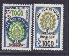 TOGO N°  307 & 308 ** MNH Neufs Sans Trace De Charnière, TB (D7768) Année Mondiale Du Réfugié - 1960 - Togo (1960-...)