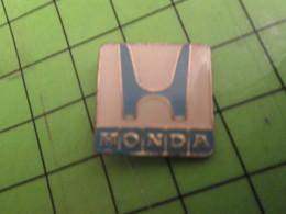 715c Pin's Pins : Rare Et Belle Qualité : THEME AUTOMOBILES : LOGO DE LA MARQUE HONDA - Honda