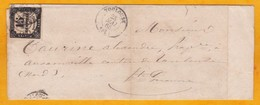 1865 - Avertissement Du Commissaire De Police De Toulouse  (divagation De Chien) - Timbre Taxe 15 Centimes - Portomarken
