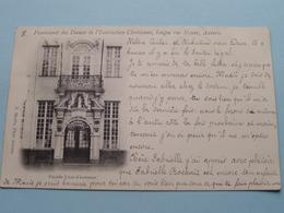 Pensionnat Des Dames De L'Instruction Chrétienne, Longue Rue Neuve / Façade Cour D'honneur ( A. Meslin ) Anno 1902 ! - Antwerpen