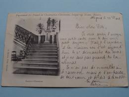 Pensionnat Des Dames De L'Instruction Chrétienne, Longue Rue Neuve / Escalier D'honneur ( A. Meslin ) Anno 1902 ! - Antwerpen
