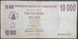 E11g2 Banknote - Zimbabwe 10000 Dollars 2006 P 46b - Zimbabwe
