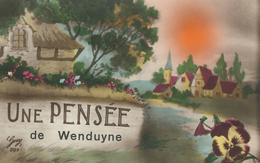 Une Pensée De WENDUYNE - WENDUINE - Cachet De La Poste 1930 - Wenduine