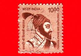 INDIA  - Usato - 2016 - Creatori Dell'India - Ch. Shri Shivaji Maharaj (1630-1680), Hindu Leader - 10 - India