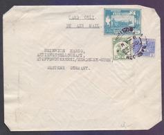 UNION OF BURMA, Old Postal History Cover, Used 10.12.1953 - Myanmar (Birmanie 1948-...)