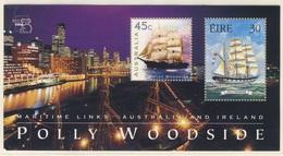 "Australia + Ireland 1999 B 29 ** ""Polly Woodside"" (1885), Barque / Bark - Sailing Ship / Geschichte Der Seefahrt - Gezamelijke Uitgaven"