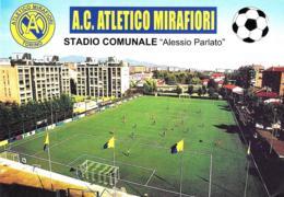 [MD2352] CPM - TORINO - CALCIO - A. C. ATLETICO MIRAFIORI - STADIO COMUNALE ALESSIO PARLATO - Non Viaggiata - Stadiums & Sporting Infrastructures