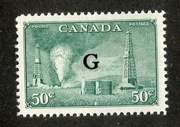 W-7978 Canada 1950  Sc.# O24* ( Cat.$10. )  - Offers Welcome! - Officials