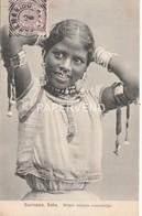Surinam  Britsch Indische Vrouwentijpe  Sm49 - Surinam