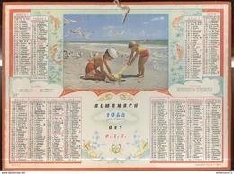 Calendrier 1964 Almanach Des P.T.T - Le Plus Bel Age - Côte D'Or - Calendriers