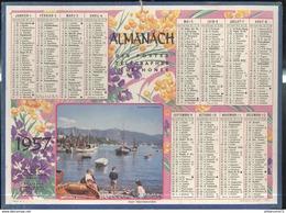 Calendrier 1957 Almanach Des P.T.T - Port Méditerranéen - 21 Côte D'Or - Grossformat : 1941-60