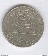 Jeton 5 Francs Machines à Sous - Casinos Groupe Partouche - Casino