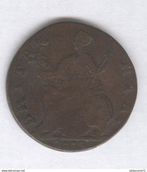 Half Penny Angleterre / UK 1773 Georges III - 1662-1816 : Antiche Coniature Fine XVII° - Inizio XIX° S.