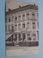 Malines Hotel DE LA STATION ( J. Carsau ) Restaurant ( Vanderauwera & Cie ) Anno 1904 ( Zie Foto's ) ! - Malines