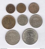 Lot 8 Monnaies Angola 1949-1972 - TTB+ à SUP - Angola